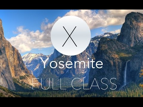 Yosemite Full Tutorial LIVE!