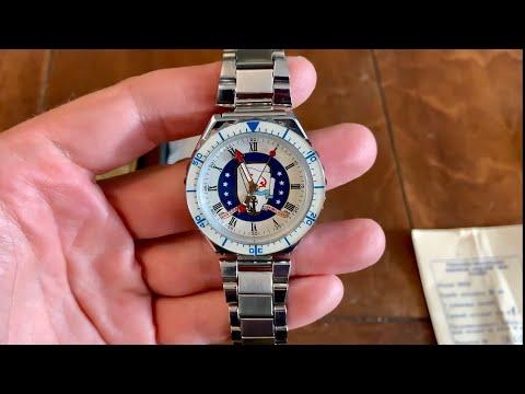 Slava Malta Summit Russian Wrist Watch