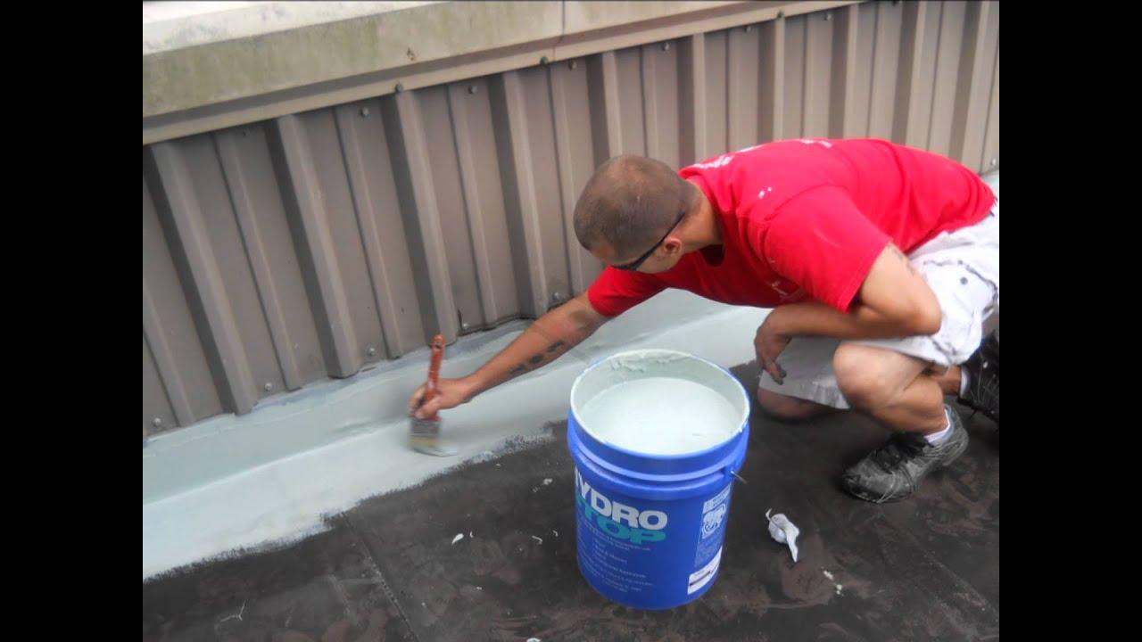 Hydro Stop Roor Repair Brunswick, Ga, Hydro Stop Roof Repair St. Simons  Island Ga   YouTube
