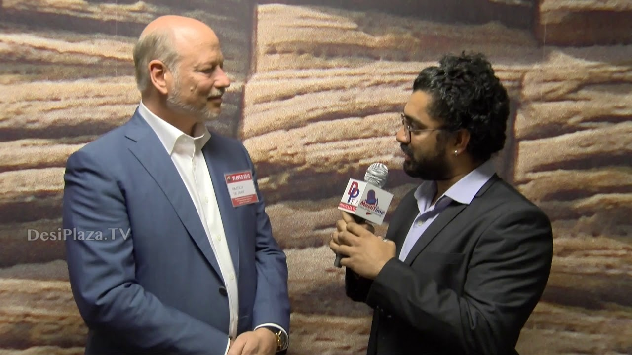 Media Byte / Interview with Dr. John Hagelin of MUM at WAVES  Dallas, Texas - 2018.