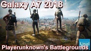 Samsung Galaxy A7 2018 - Playerunknown's Battlegrounds