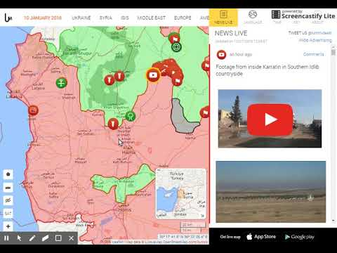 Syria live map - Ildib campaign - 1/10/17 #2 (2 other maps) - YouTube