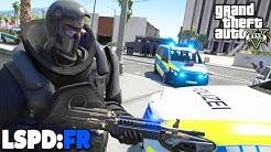 GTA 5 LSPD:FR - Schwer bewaffneter ANGREIFER! - Deutsch - Polizei Mod #85 Grand Theft Auto V
