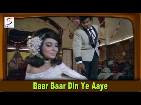 Baar Baar Din Ye Aaye   Mohammed Rafi @ Farz   Jeetendra