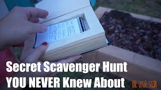 Secret Worldwide Scavenger Hunt - GeoCaching For The First TIME thumbnail