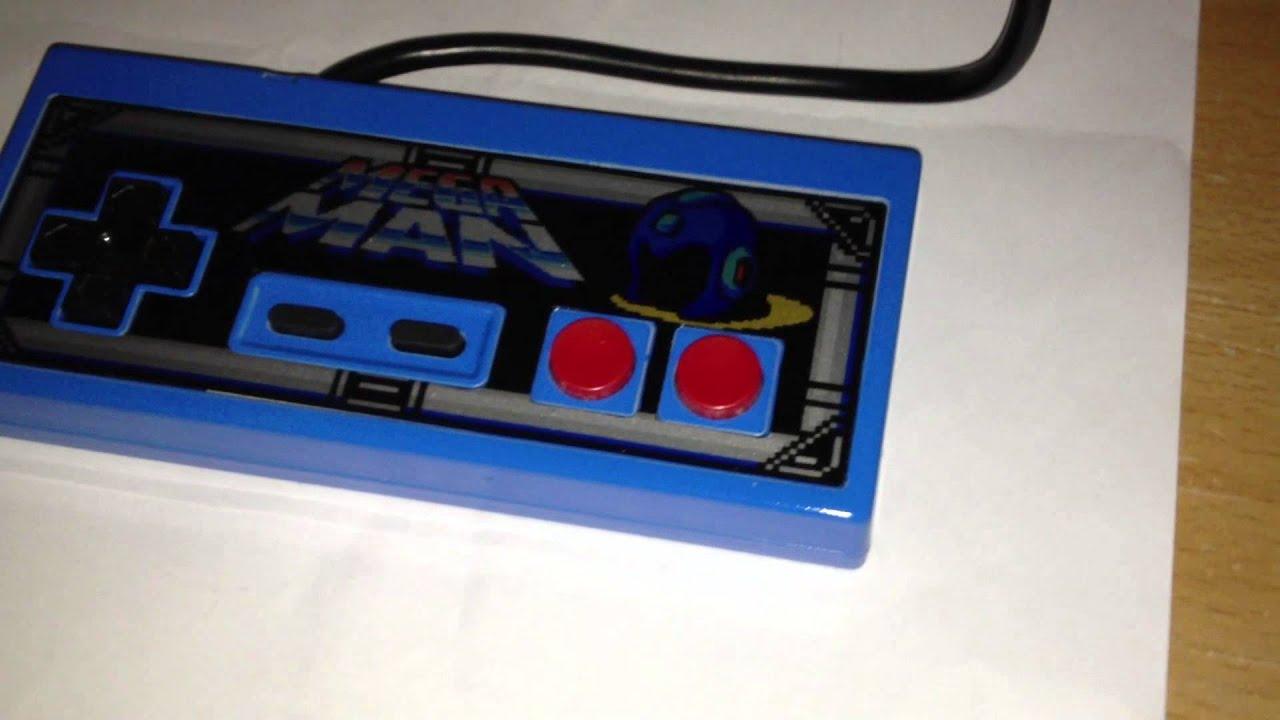 Custom MegaMan NES Controller