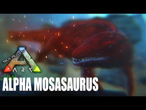 ARK Survival Evolved : Alpha Mosasaurus