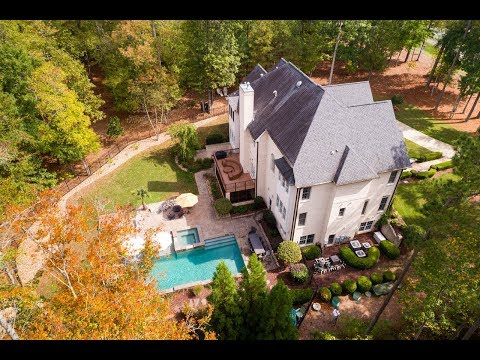 Elegant Estate Home For Sale in Apex, North Carolina with Low Chatham County Taxes