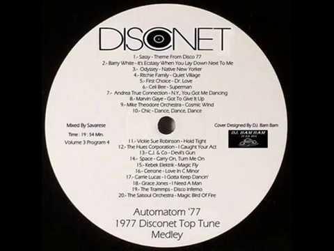 1977 Disconet Top Tune Medley