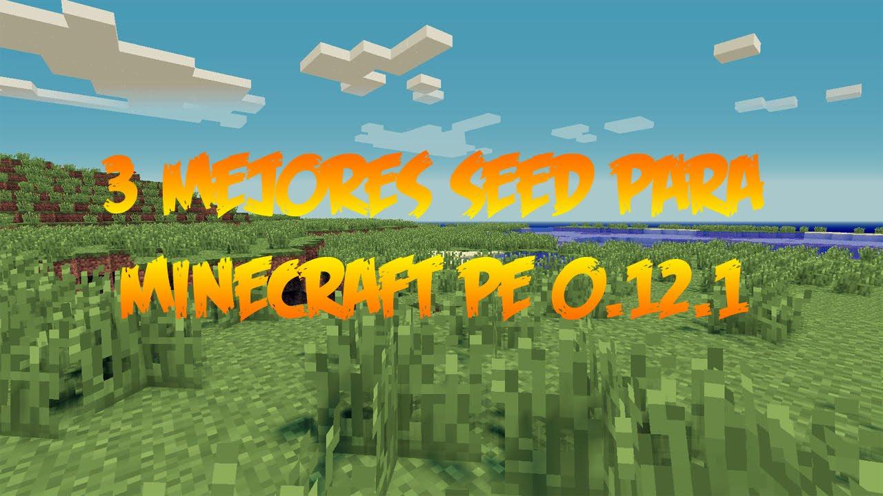 Mejores Seed / Semilla Con Aldea Para Minecraft Pocket Edition 0.12