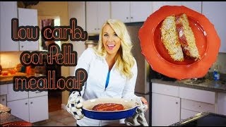 Confetti Meatloaf | Low Carb & Gluten Free