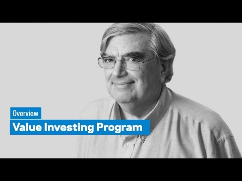 Value Investing Program: Overview