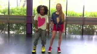 Shake it Up | Make Your Mark Audition 2012 | Charlize & Larsen