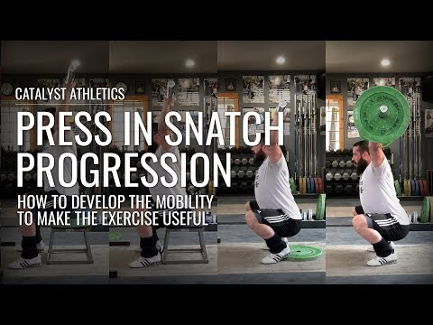 Press in Snatch (Sots Press) Mobility Progression