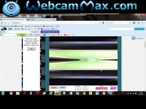 take a photo online with webcam effects czech version