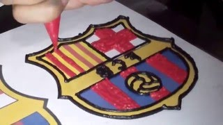 Barcelona Cake Buttercream Transfer How to Make Birthday Cake
