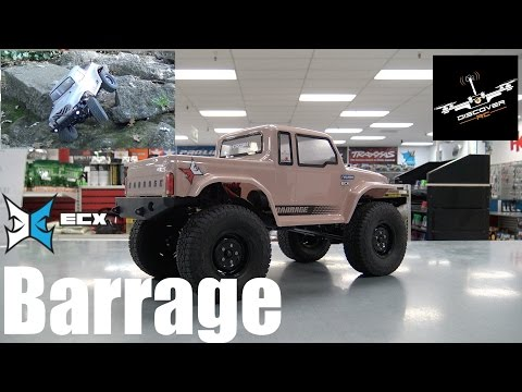ECX 1/12 Barrage 1.9 Scaler | Review and Drive
