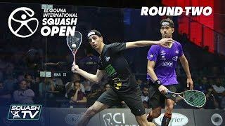 Squash El Gouna International 2018 - Mens Rd2 Round Up P2