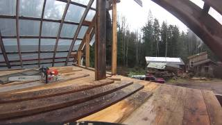 Beachwood Timber Frame Carport Part 3