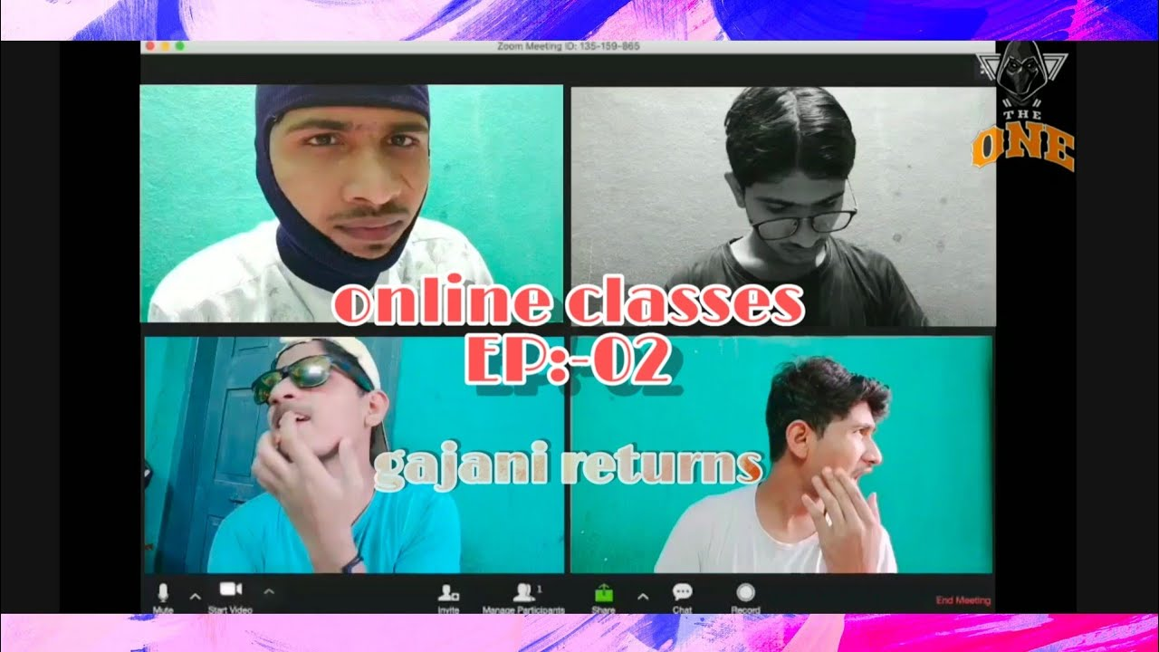 Gajani || Online classes EP:-02 || ft.Deepak pawar