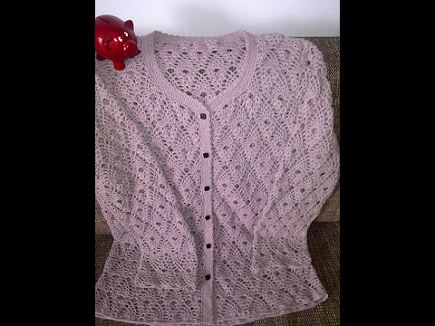 Crochet Patterns| for free |crochet cardigan| 1581 - YouTube
