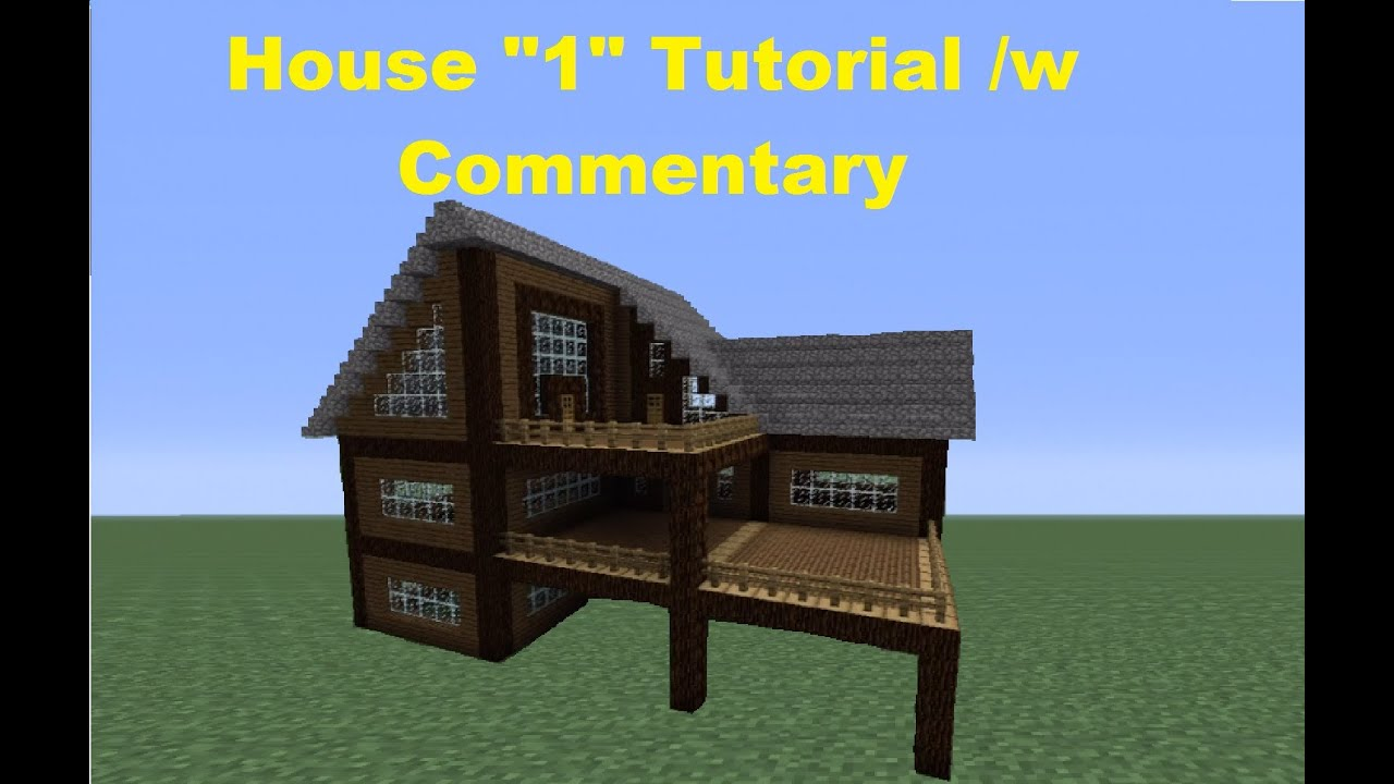 Minecraft 360 how to build a spruce wood house house 1 Wooden homes to build