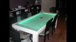 Led Table - Design Dining Table - (pictures And Movie)