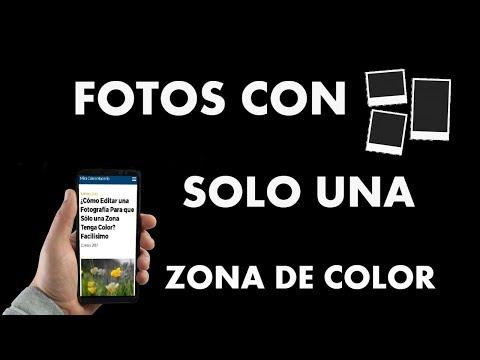 ¿Cómo Editar una Foto Para que Sólo una Zona Tenga Color?