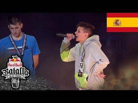 CHUTY vs VEGAS - Octavos: Final Nacional España 2017 - Red Bull Batalla de los Gallos