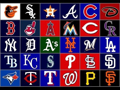 My Rankings Of All 30 MLB Teams Logos