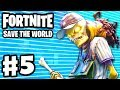 Download Fortnite: Save the World - Gameplay Walkthrough Part 5 - Beta Storms! 5 Tapes! (PC)