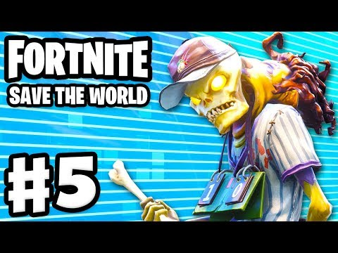 Fortnite: Save the World - Gameplay Walkthrough Part 5 - Beta Storms! 5 Tapes! (PC)