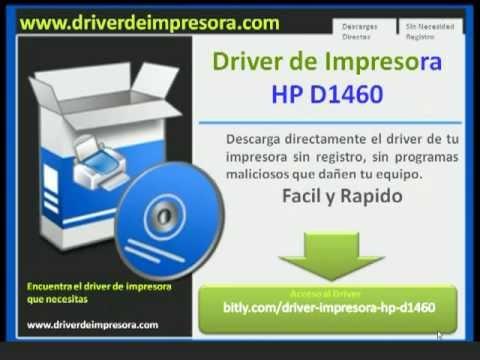 driver hp laserjet d1460