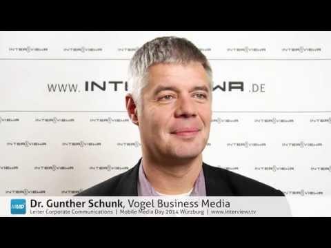 Dr. Gunther Schunk zum Vogel Campus und dem Gründerstandort Würzburg