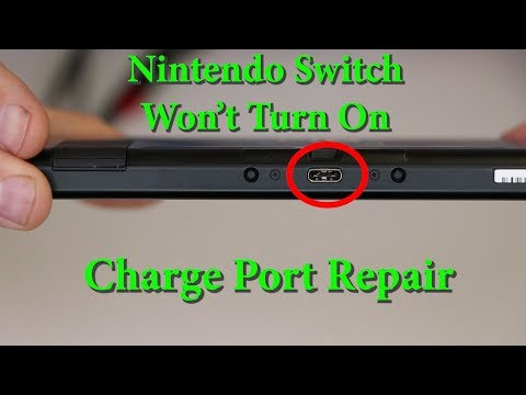 Nintendo Switch Not Charging - Wont Turn On - Switch Dead