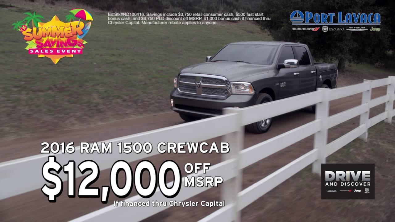 Port Lavaca Dodge >> Port Lavaca Dodge Special June 2016 Youtube