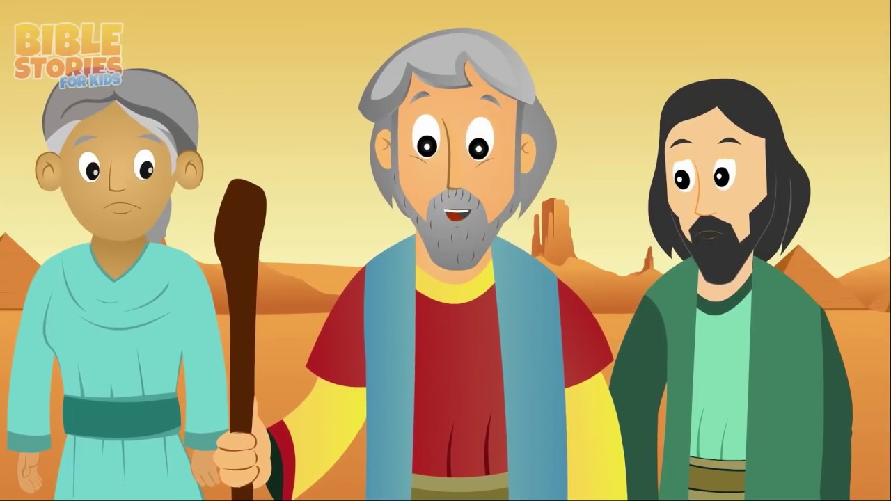 Exodus Bible Story For Kids