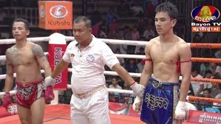 Chan Sun VS (Laos) Saengsuryak, 16/November/2018, BayonTV Boxing