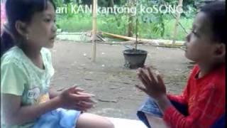 Kaulinan Barudak Sunda - PUNTEN MANGGA.wmv