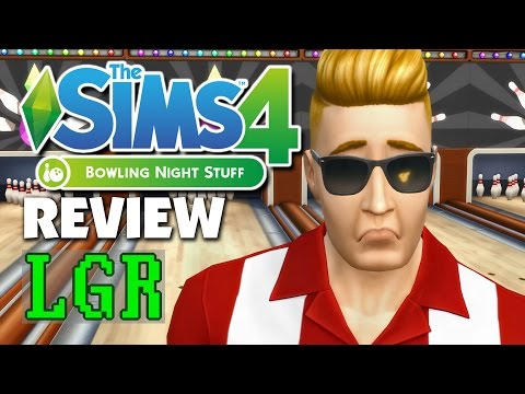 LGR - The Sims 4 Bowling Stuff Review : thesims