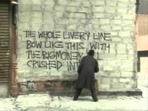 Basquiat, Painting Live Street Graffiti