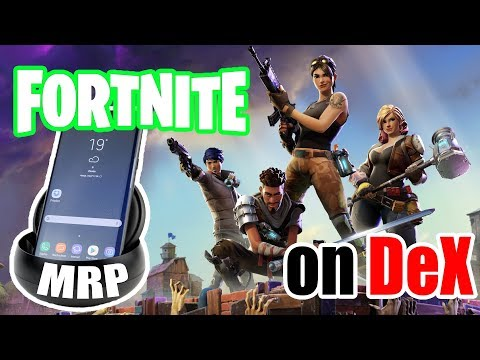 Fortnite on Samsung Dex (with Vortex Cloud gaming)