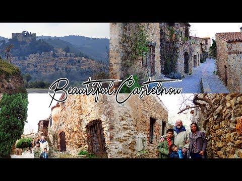 Castelnou,France / L' Un Des Plus Beaux Villages De France /One Of  The Beautiful Villages In France