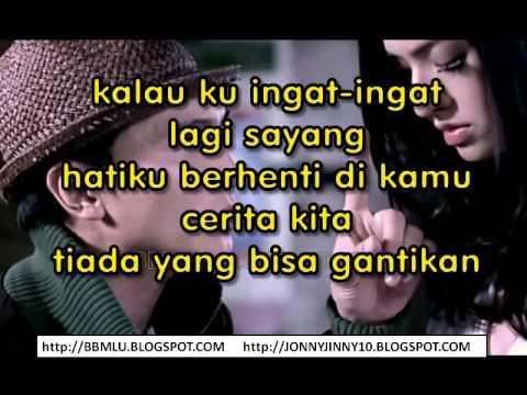 Anji - Hatiku Berhenti Di Kamu (karaoke) | LIRIKMUSIK10