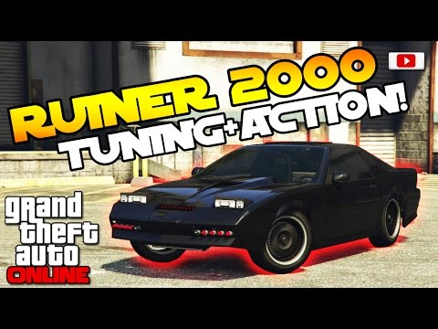 GTA 5 Online Import/Export Update: 🚘😆Ruiner 2000 Tuning + Action!😆🚘 [Auto Vorstellung PS4 Gameplay]