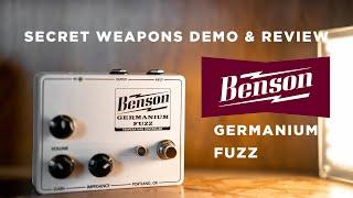 Benson Germanium Fuzz | Secret…