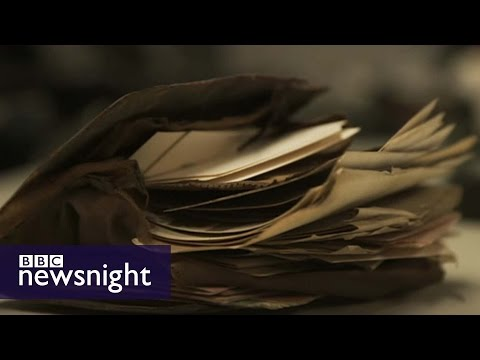 The curious case of Edward Parker's wallet - BBC Newsnight