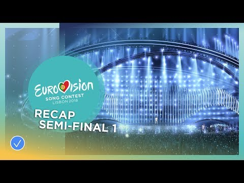 OFFICIAL RECAP: The first Semi-Final of the 2018 Eurovision Song Contest