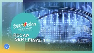official recap the first semi final of the 2018 eurovision song contest
