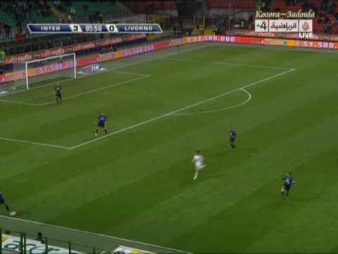 Inter Milan fans in Giuseppe Meazza